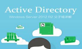 Active Directory:Windows Server 2012 R2 父子域详解视频课程