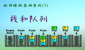 数据结构基础系列视频课程(3):栈和队列