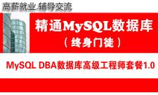 MySQL DBA数据库高级工程师培训视频专题(终身门徒)