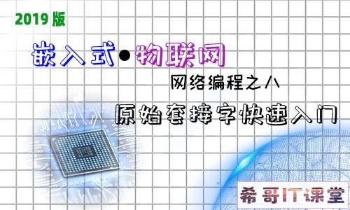 【嵌入式物联网系列】网络编程专题:第八课-原始套接字快速入门