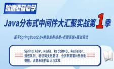 Java分布式中间件大汇聚实战第1季(SpringBoot)