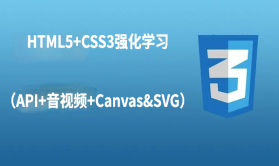 HTML5+CSS3强化学习(API+音视频+Canvas&SVG)