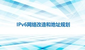 IPv6网络改造和地址规划