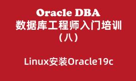 Oracle入门培训(8):Linux安装Oracle19c_Linux7.6+Oracle19c